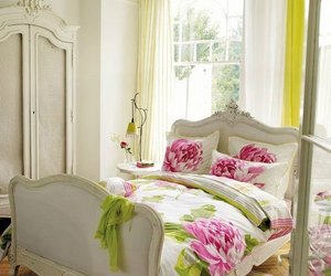 bedroom, shabby, and shabby chic image