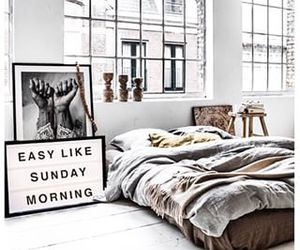 bed, decor, and inspiration image