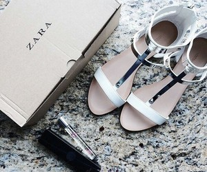 Zara, fashion, and shoes image