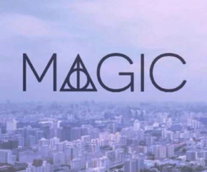 magic, harry potter, and wallpaper image