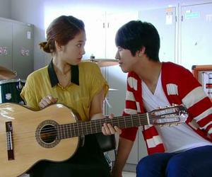kiss, park shin hye, and music image