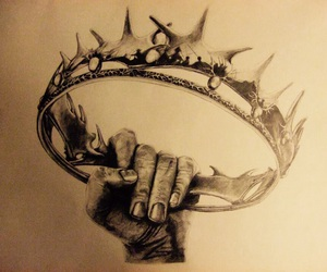 main, game of thrones, and couronne image