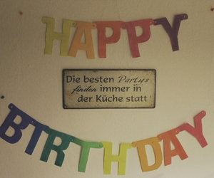 diy, happy birthday, and party image