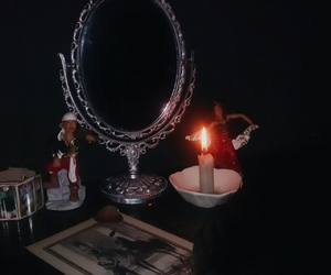 candles, cards, and gypsies image