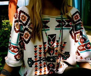 fashion, style, and aztec image