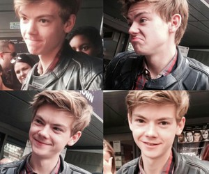 newt, thomas sangster, and cute image