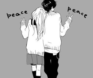peace, anime, and manga image