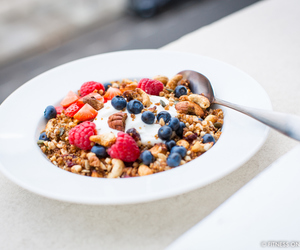 fit, healthy, and food image