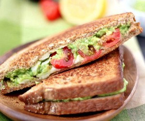 food, dessert, and sandwich image