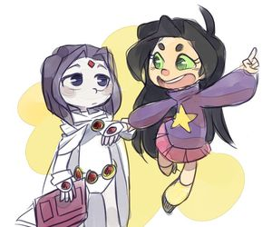 raven and cute image
