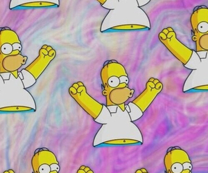 simpsons, homer, and wallpaper image