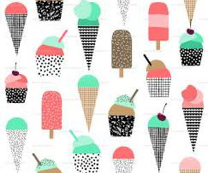 colours, ice cream, and lolly image