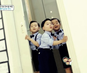 baby cute, triplets, and manse image