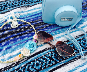 beach, fashion, and instax image