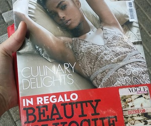 beauty, italy, and vogue image