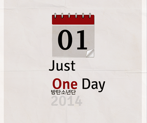bts, just one day, and kpop image