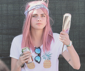 fashion, model, and pink hair image