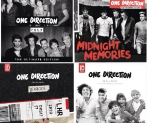 one direction, four, and up all night image