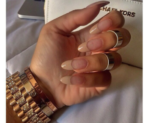 nails, cartier, and Michael Kors image