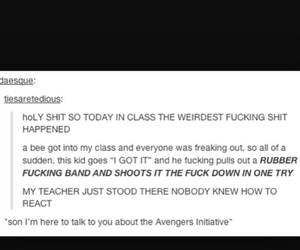 Avengers, fly, and lol image