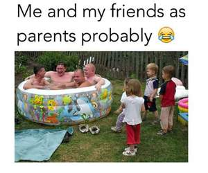 funny, parents, and friends image