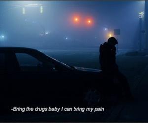 car, dark, and Lyrics image