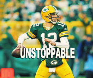 football, packers, and aaron rodgers image