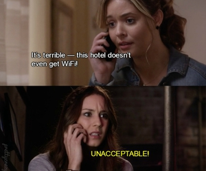 alison, funny, and hotel image
