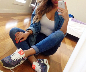 girl, nike, and outfit image
