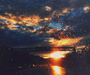 beautiful, sunset, and beauty image