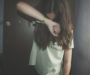 stop and girl image