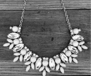 fashion, necklace, and statement image
