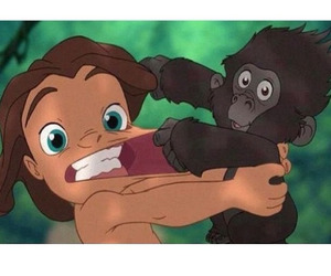 tarzan and cartoon image