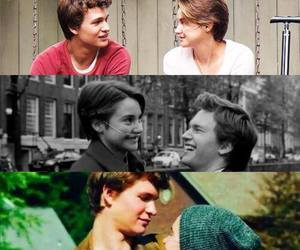 book, love, and augustus waters image