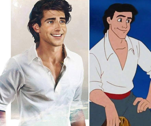 disney, prince, and eric image