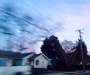 grunge, sky, and house image