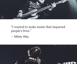 band, mcr, and mikey way image