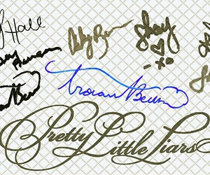 autograph, lucy hale, and pretty little liars image