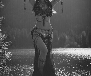 beauty, dance, and exotic image