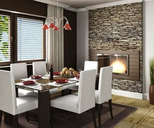 house, dining room, and home image