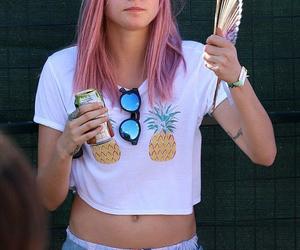 cara delevingne, pink, and cara image