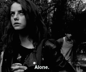 alone, skin, and Effy image
