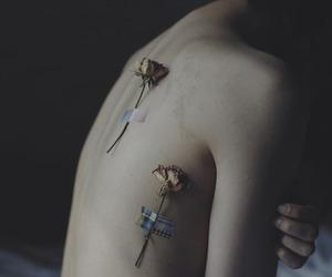 body, dark, and sad image