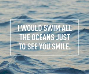 ocean, one direction, and Lyrics image