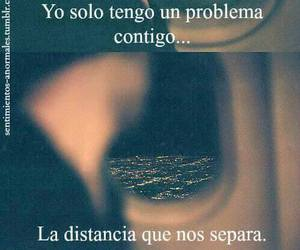 love, distancia, and amor image