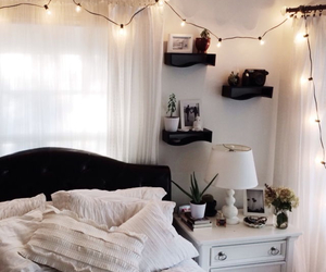 bedroom, white, and nice image