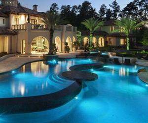 big house, dream house, and wealthy image