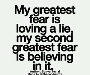 believe, fear, and love image
