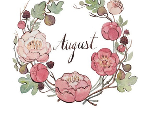 August, flowers, and summer image