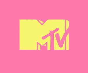 mtv, pink, and wallpaper image